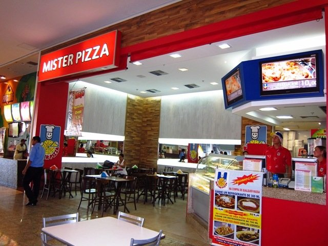Mister Pizza no Partage Norte Shopping